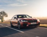 2021 BMW M5 Competition (UK-Spec) Front Three-Quarter Wallpapers  150x120 (8)