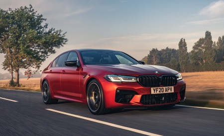 2021 BMW M5 Competition (UK-Spec) Wallpapers HD