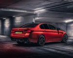 2021 BMW M5 Competition (UK-Spec) Rear Three-Quarter Wallpapers 150x120 (18)