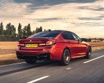 2021 BMW M5 Competition (UK-Spec) Rear Three-Quarter Wallpapers  150x120 (4)