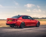 2021 BMW M5 Competition (UK-Spec) Rear Three-Quarter Wallpapers 150x120 (15)