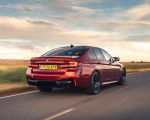 2021 BMW M5 Competition (UK-Spec) Rear Three-Quarter Wallpapers 150x120 (5)