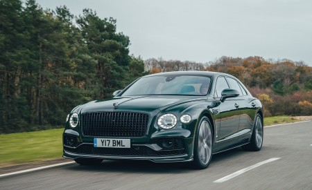2021 Bentley Flying Spur V8 Front Three-Quarter Wallpapers 450x275 (35)