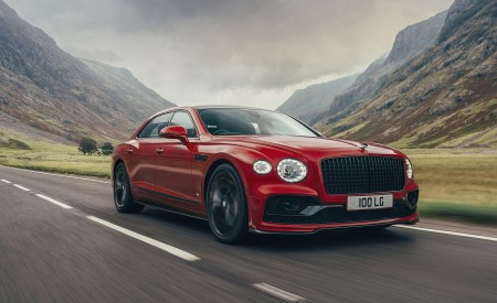 2021 Bentley Flying Spur V8 Front Three-Quarter Wallpapers 450x275 (7)