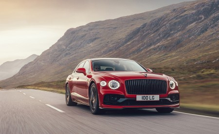 2021 Bentley Flying Spur V8 Front Three-Quarter Wallpapers 450x275 (2)