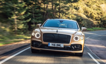 2021 Bentley Flying Spur V8 Front Wallpapers 450x275 (52)