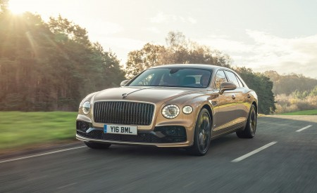 2021 Bentley Flying Spur V8 Front Wallpapers 450x275 (53)