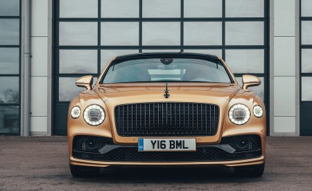 2021 Bentley Flying Spur V8 Front Wallpapers 450x275 (60)