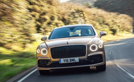 2021 Bentley Flying Spur V8 Front Wallpapers 450x275 (54)