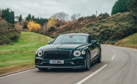 2021 Bentley Flying Spur V8 Front Wallpapers 450x275 (37)