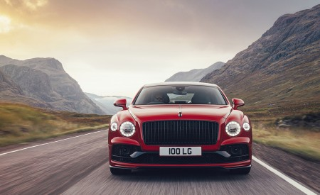 2021 Bentley Flying Spur V8 Front Wallpapers 450x275 (3)