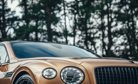 2021 Bentley Flying Spur V8 Headlight Wallpapers 450x275 (67)