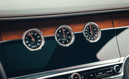 2021 Bentley Flying Spur V8 Interior Detail Wallpapers 450x275 (85)