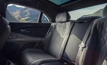 2021 Bentley Flying Spur V8 Interior Rear Seats Wallpapers 450x275 (25)
