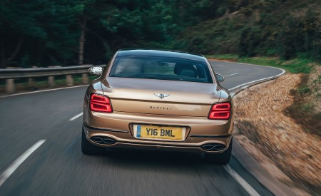 2021 Bentley Flying Spur V8 Rear Wallpapers 450x275 (57)