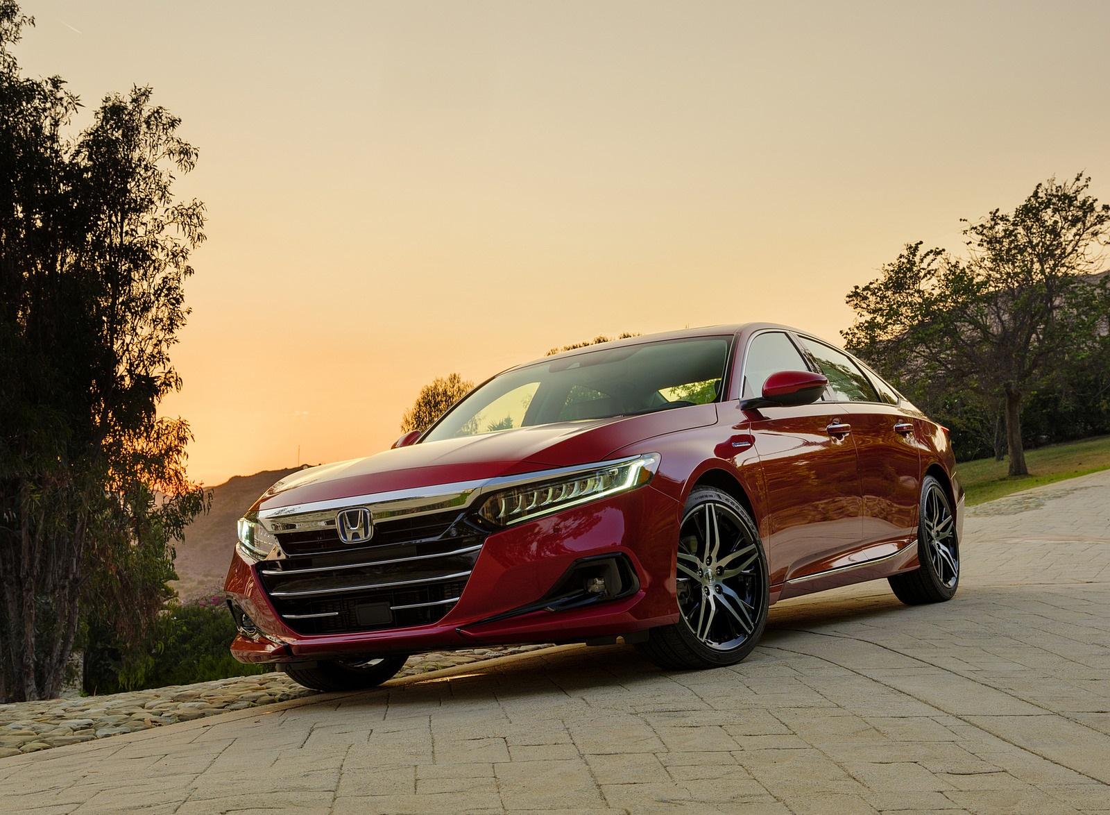 2021 Honda Accord Hybrid Front Three-Quarter Wallpapers  (6)