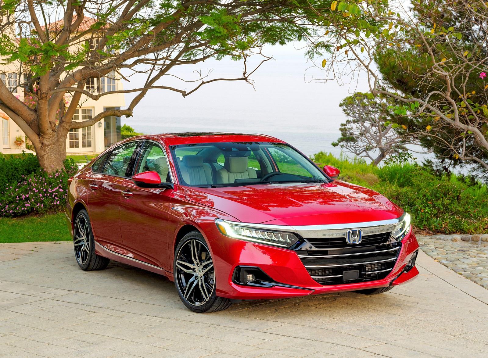 2021 Honda Accord Hybrid Front Three-Quarter Wallpapers (7)