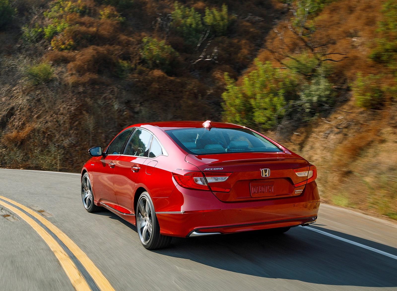 2021 Honda Accord Hybrid Rear Three-Quarter Wallpapers (3)