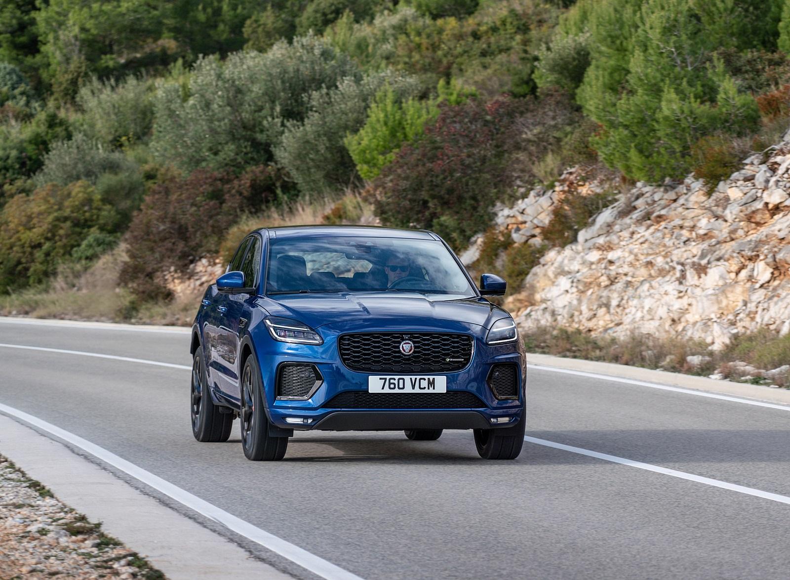 2021 Jaguar E-PACE Front Wallpapers (6)