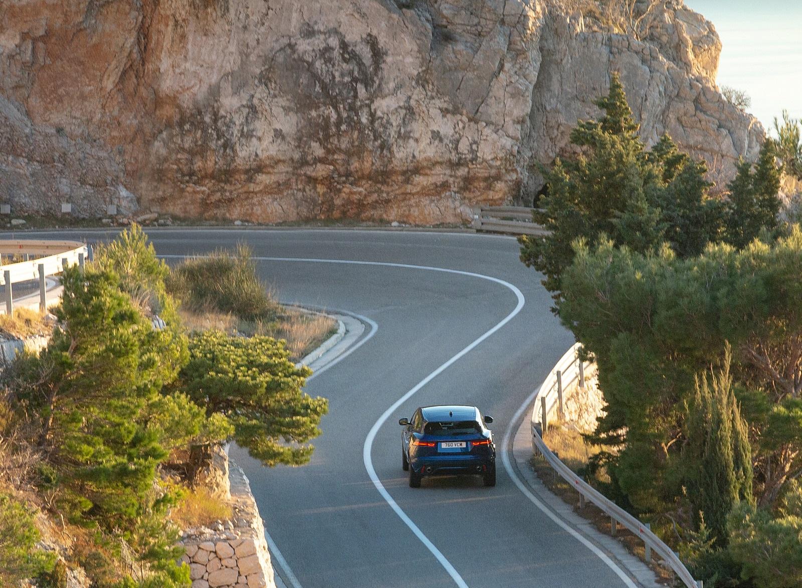 2021 Jaguar E-PACE Rear Wallpapers (7)
