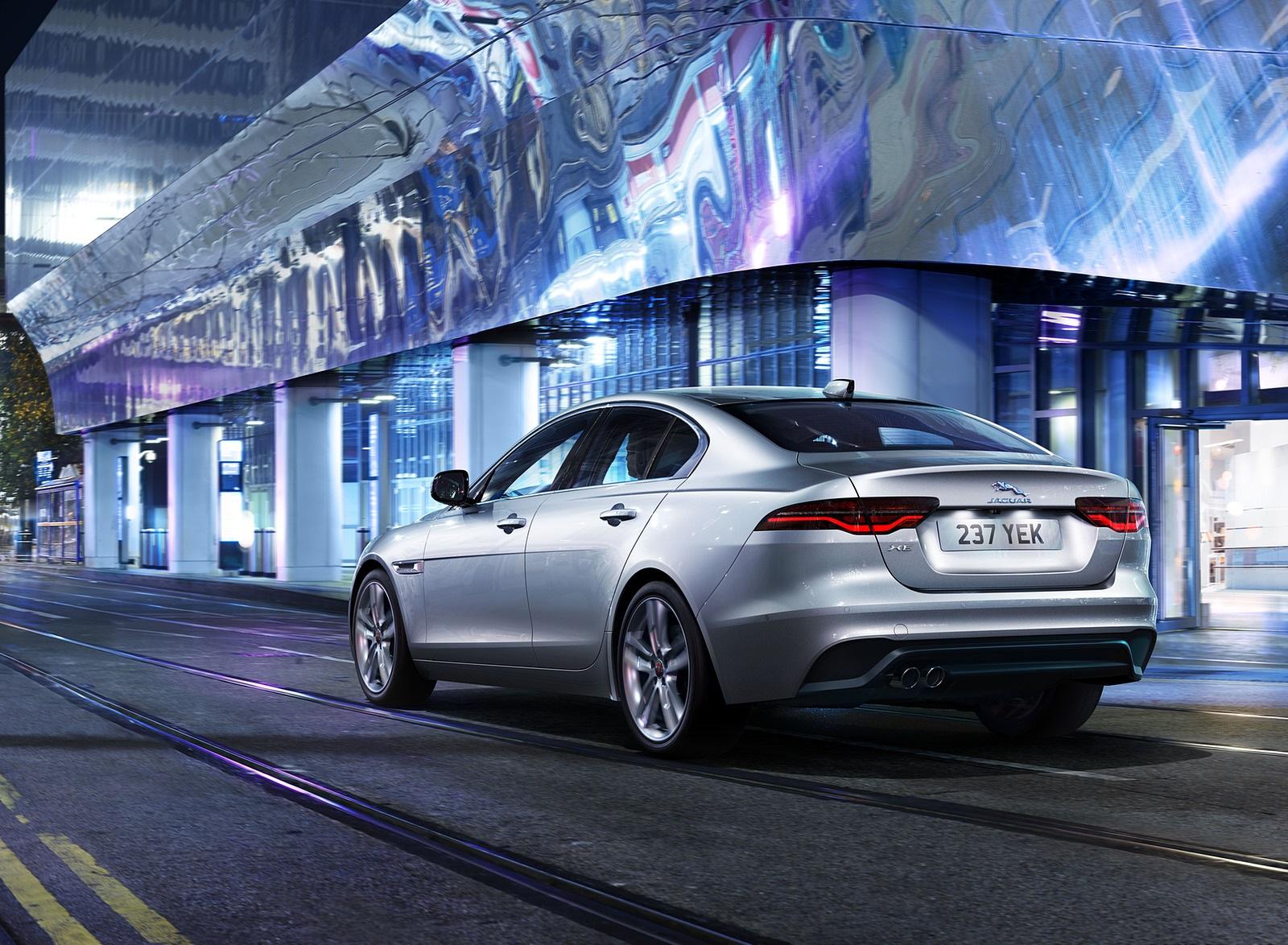 2021 Jaguar XE Rear Three-Quarter Wallpapers (4)