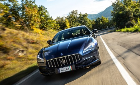2021 Maserati Quattroporte SQ4 GranLusso Wallpapers HD