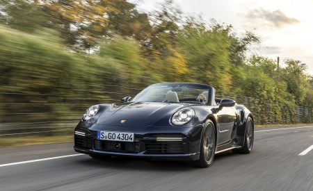 2021 Porsche 911 Turbo Cabrio Wallpapers HD