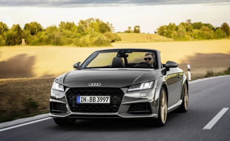 2021 Audi TT Roadster Bronze Selection Wallpapers HD