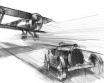 2021 Bugatti Chiron Sport Les Légendes du Ciel Design Sketch Wallpapers 150x120 (21)