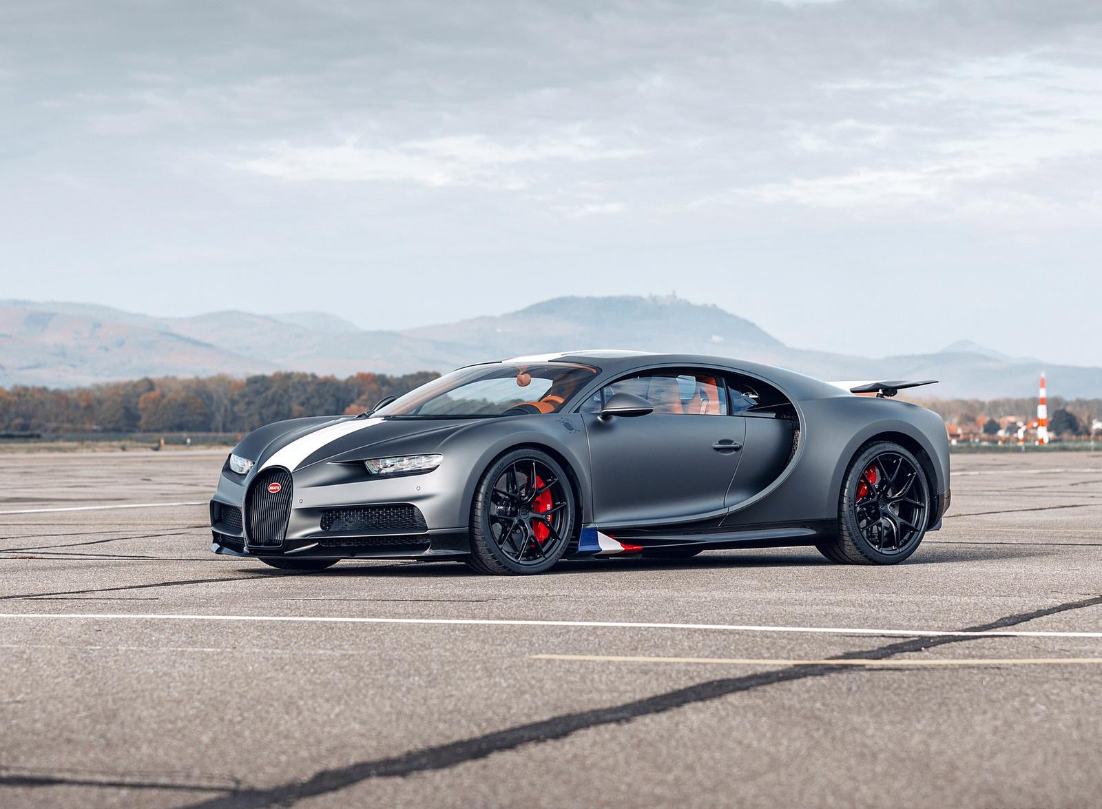 2021 Bugatti Chiron Sport Les Légendes du Ciel Front Three-Quarter Wallpapers (1)