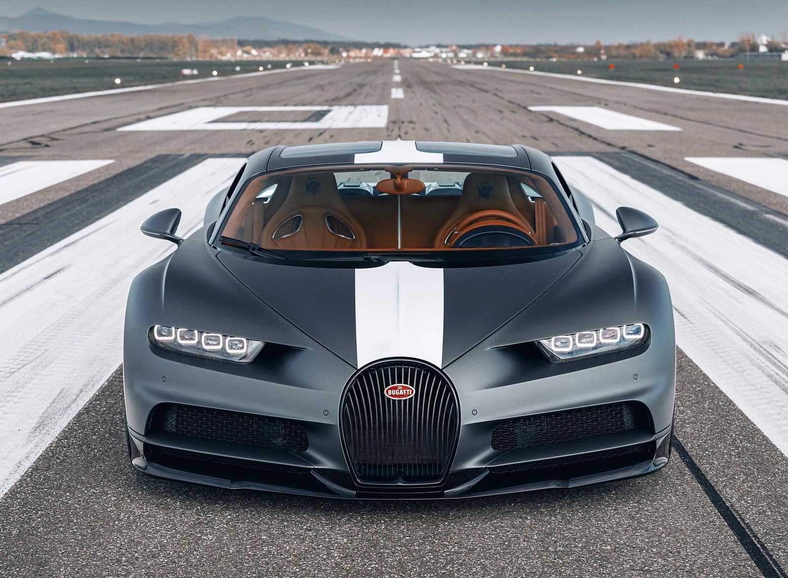 2021 Bugatti Chiron Sport Les Légendes du Ciel Front Wallpapers (4)