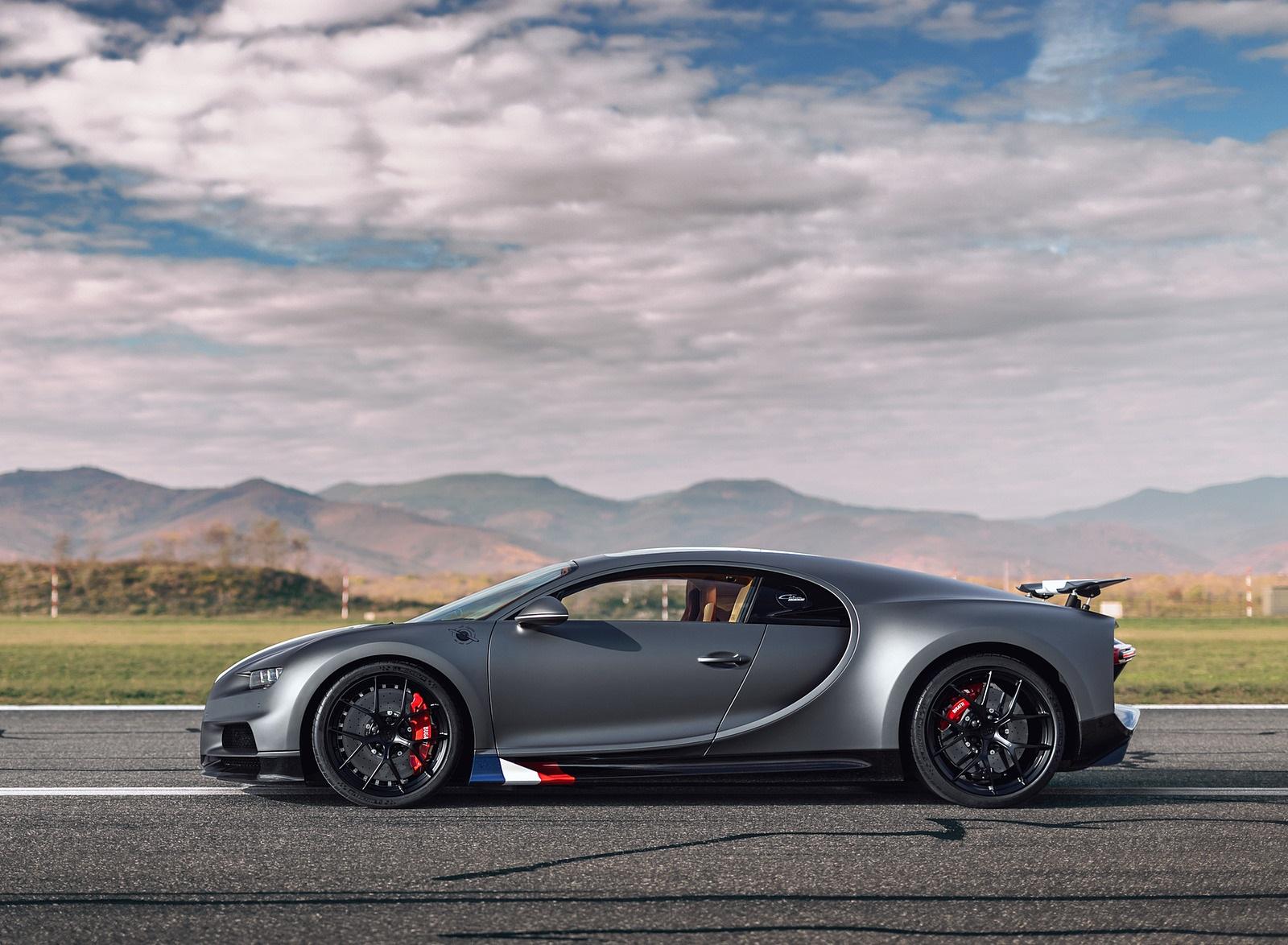 2021 Bugatti Chiron Sport Les Légendes du Ciel Side Wallpapers (2)