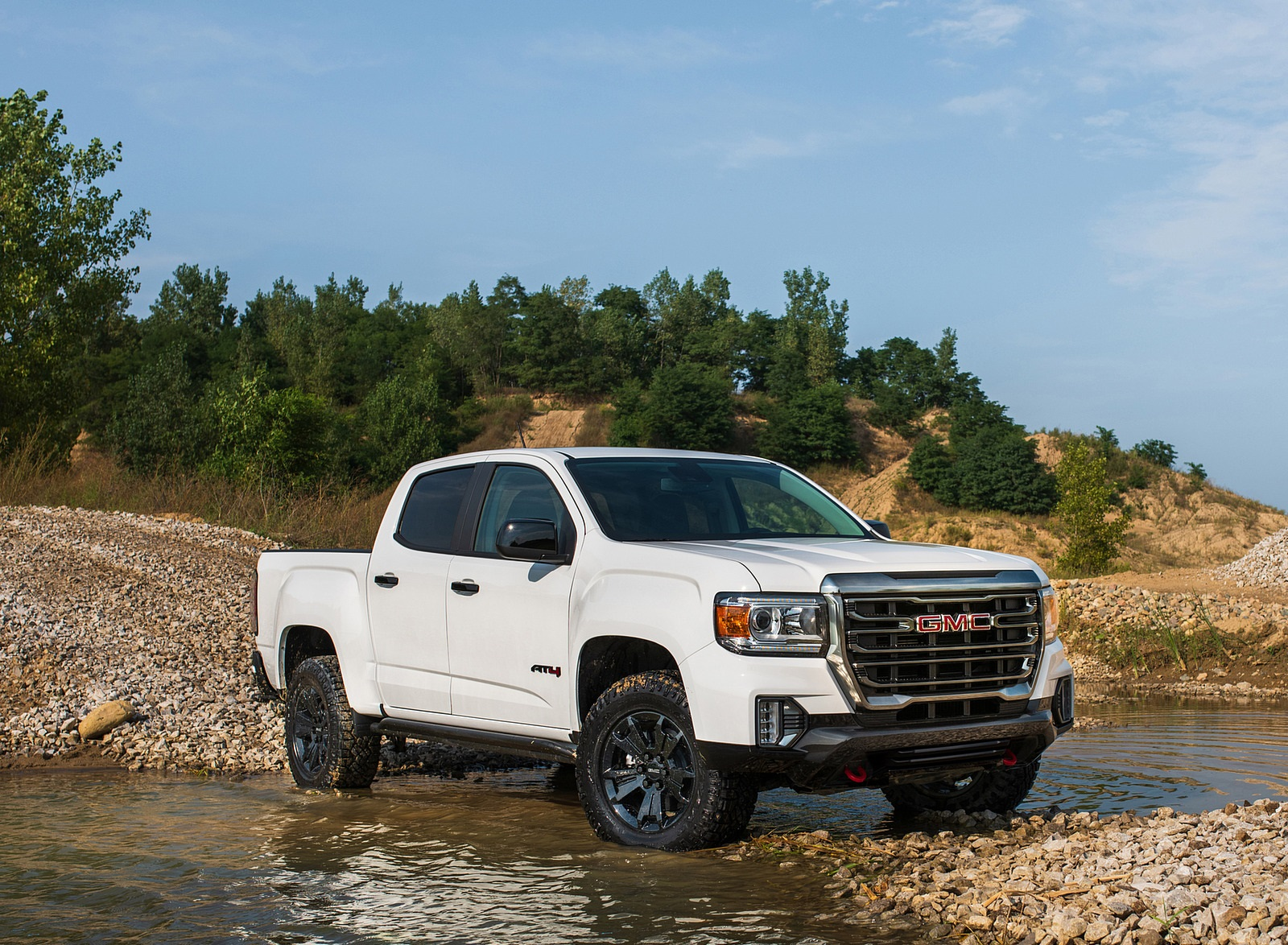 2021 GMC Canyon AT4 Off-Road Performance Edition Front Three-Quarter Wallpapers (6)