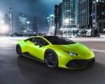2021 Lamborghini Huracán EVO Fluo Capsule (Color: Green) Front Three-Quarter Wallpapers 150x120 (3)