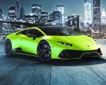 2021 Lamborghini Huracán EVO Fluo Capsule (Color: Green) Front Three-Quarter Wallpapers 150x120 (6)