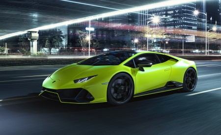 2021 Lamborghini Huracán EVO Fluo Capsule Wallpapers HD