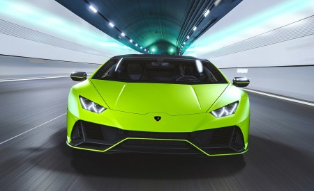 2021 Lamborghini Huracán EVO Fluo Capsule (Color: Green) Front Wallpapers 450x275 (2)