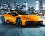 2021 Lamborghini Huracán EVO Fluo Capsule (Color: Orange) Front Three-Quarter Wallpapers 150x120 (21)