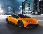 2021 Lamborghini Huracán EVO Fluo Capsule (Color: Orange) Front Three-Quarter Wallpapers 150x120 (19)