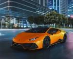 2021 Lamborghini Huracán EVO Fluo Capsule (Color: Orange) Front Three-Quarter Wallpapers 150x120 (18)