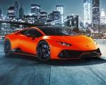 2021 Lamborghini Huracán EVO Fluo Capsule (Color: Red) Front Three-Quarter Wallpapers 150x120 (16)