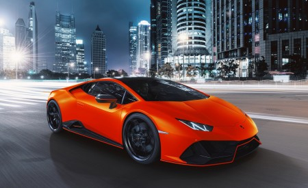 2021 Lamborghini Huracán EVO Fluo Capsule (Color: Red) Front Three-Quarter Wallpapers 450x275 (14)