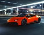 2021 Lamborghini Huracán EVO Fluo Capsule (Color: Red) Front Three-Quarter Wallpapers 150x120 (13)