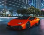 2021 Lamborghini Huracán EVO Fluo Capsule (Color: Red) Front Three-Quarter Wallpapers 150x120 (12)