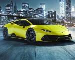 2021 Lamborghini Huracán EVO Fluo Capsule (Color: Yellow) Front Three-Quarter Wallpapers 150x120 (11)