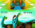 2021 Lamborghini Huracán STO Design Sketch Wallpapers 150x120 (35)