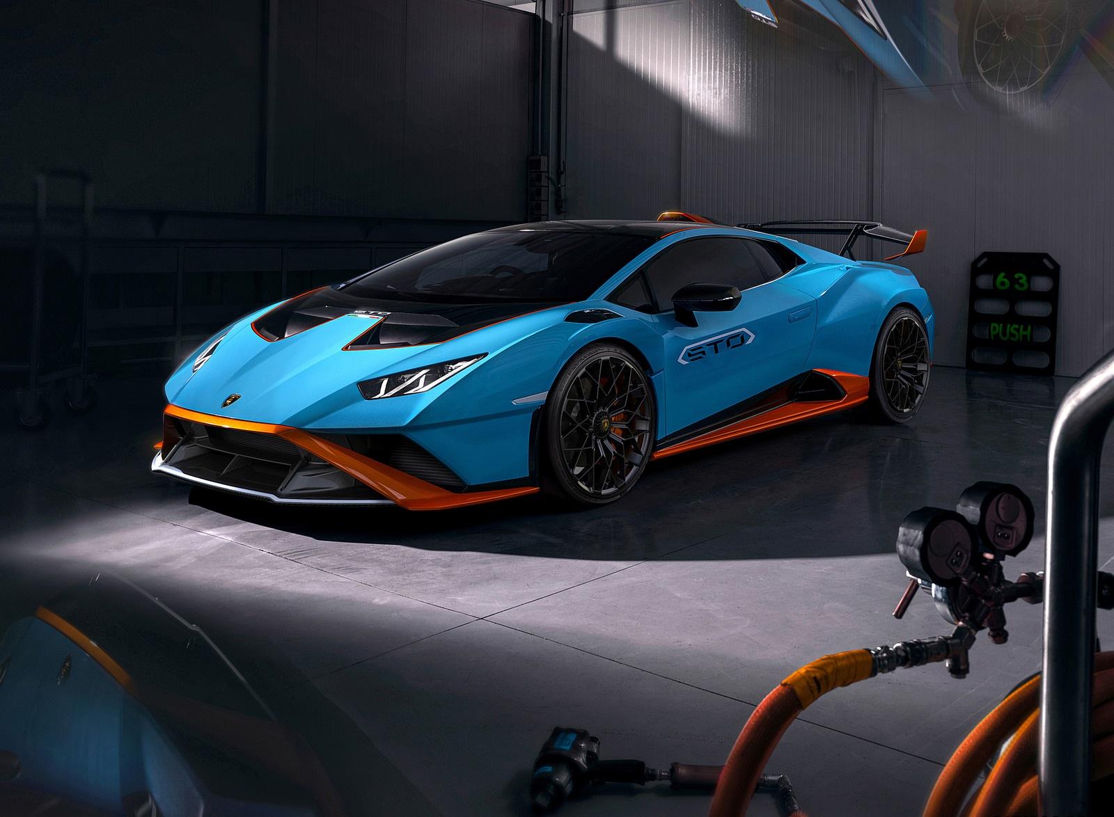 2021 Lamborghini Huracán STO Front Three-Quarter Wallpapers (8)