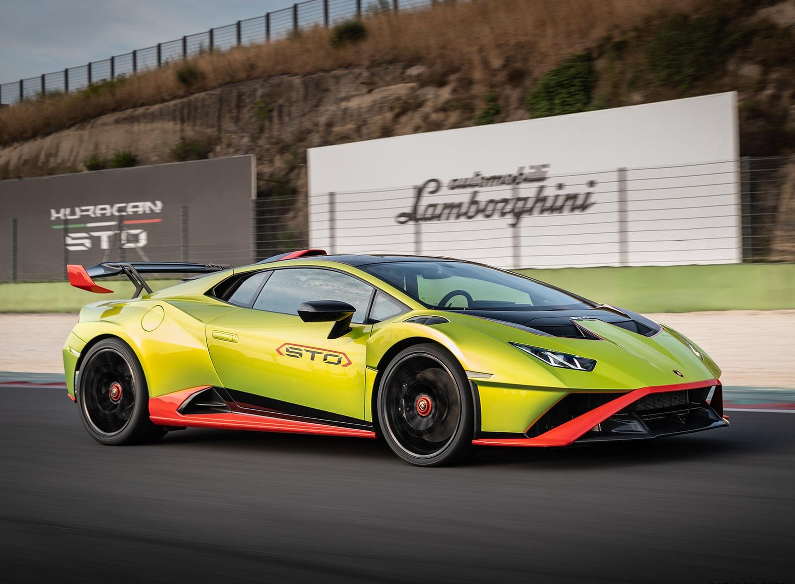 2021 Lamborghini Huracán STO Front Three-Quarter Wallpapers (7)
