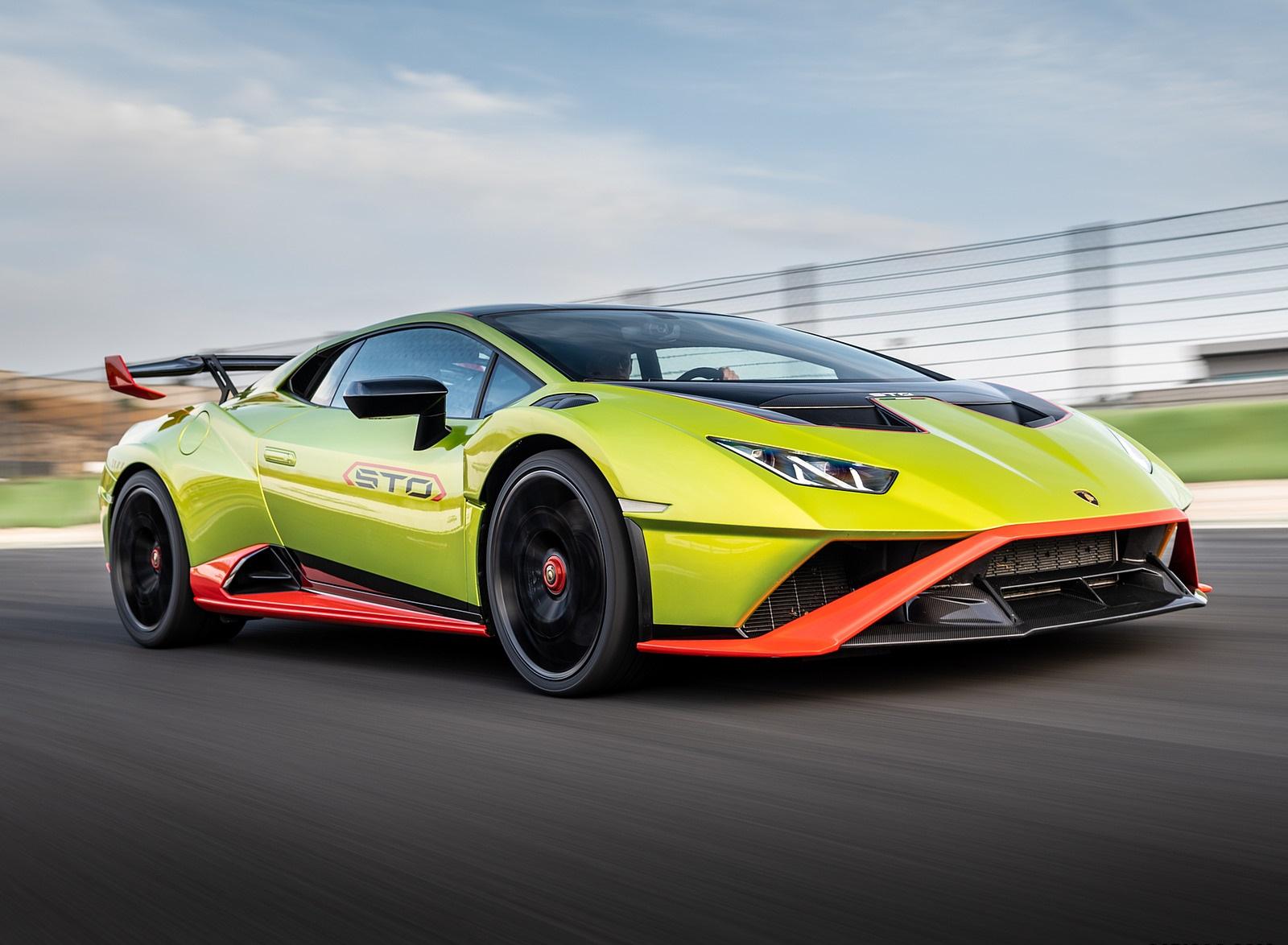 2021 Lamborghini Huracán STO Front Three-Quarter Wallpapers (9)