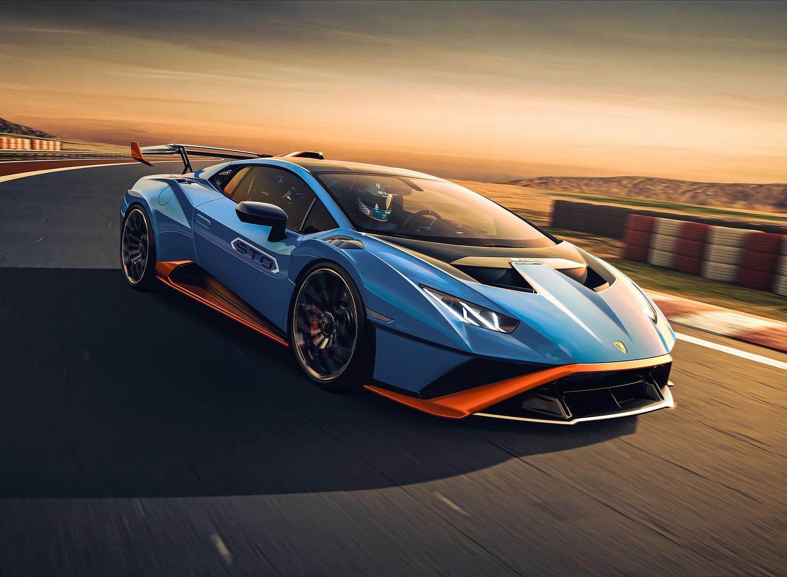2021 Lamborghini Huracán STO Front Three-Quarter Wallpapers (1)